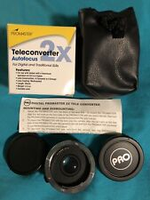 Promaster 2X Auto Focus Teleconverter - Made in JAPAN -fits Canon EOS