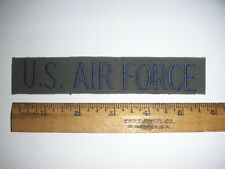 Used US Air Force Subdued Service Tape (Sew on Type) - (#223) - Free Shipping