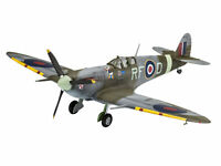Supermarine Spitfire Revell Model Plane Set Including Glue Paint & Brush 1:72