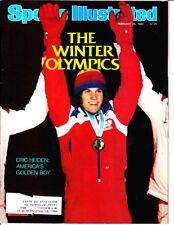 Feb. 25, 1980 Sports Illustrated Eric Heiden Golden Boy at Lake Placid Olympics