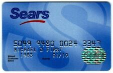 Sears  Department Store Credit Card  expire 01/10