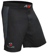 AQF Combat MMA Shorts Cage Fighting Grappling Kick Boxing Gym Short 4-Way