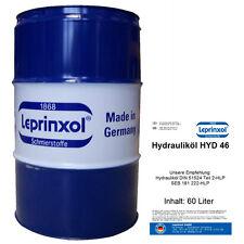 60l FASS HLP46 HYDRAULIKÖL  - HYDRAULIKFLÜSSIGKEIT - HYDRAULIKFLUID 60 Liter