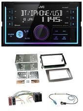 JVC AUX 2din USB mp3 Bluetooth Autoradio per Alfa Romeo Mito ISO 955 08-14 sillaba