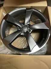 18'' Rotor Arm Style Alloy Wheels Audi A4 A5 A6 A7 A8 Q3 Q5 S4 S5 S6 TTrs S Line