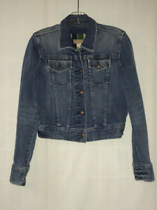 ABERCROMBIE & FITCH YOUTH JEAN JACKET SIZE LARGE