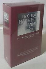 2009 LE GUIDE HACHETTE DES VINS COFFRET AVEC RECETTES/LIEUX/ ANECDOCTES ETC...