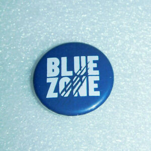 "George Fox University Athletics Blue Zone Pin Button Sports 1.25"" Round College"