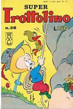SUPER TROTTOLINO N. 38 del 1963 Edizioni Bianconi (con storia di GEPPO)