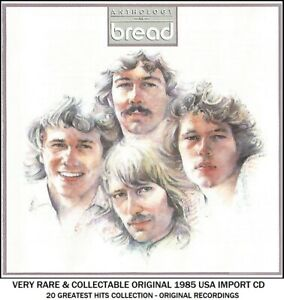Bread - The Very Best 20 Greatest Hits Collection RARE 70's Pop CD David Gates