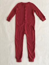 Children's Bon Ton Super Soft One Piece Pajamas - Size 4 Years - Light Red