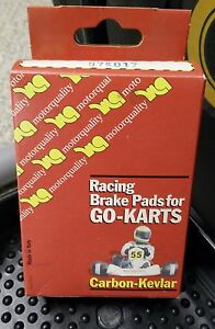 Motorquality Racing Kart Brake Pads OTK, Tony Kart Part #07K035 AMAZING SALE!