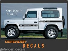 LAND ROVER DEFENDER 90 Aftermarket DECAL Stripes Sticker SET landrover Arrow