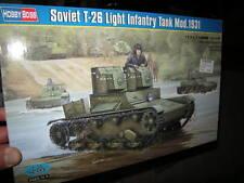 1:35 hobby Boss Soviet t-26 Light Infantry Tank mod.1931 OVP