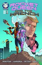 ROCKET QUEEN AND THE WRENCH #1 1st Prt 2015 Space Goat NM - Vault 35
