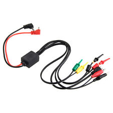 BST-051 Multimeter Test Lead Wire Cable Kit Set with Clips Banana Plugs New