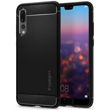Spigen Huawei P20 PRO Hülle Rugged Armor Soft Karbon Look Case Cover ORIGINAL