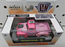 1953 CHEVY 3100 PICKUP TRUCK PINK GROUND POUNDERS 2,888 MADE R16 17-06 M2