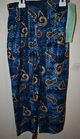 NFL TEAM  St.Louis Rams Lounge Pants Youth SIZES  4/5 6/7 8/10 12/14 NWT
