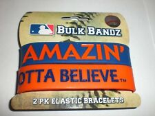 Wholesale Lots Of New York Mets 2Pk Elastic Bracelets Bulk Bands