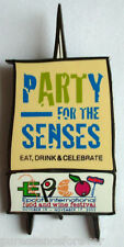 WDW Epcot Food & Wine 2002: Party For Senses Logo Pin