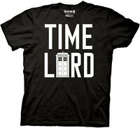 AUTHENTIC DOCTOR WHO TIME LORD WITH TARDIS SYFY TV SHOW T TEE SHIRT S M L XL 2XL