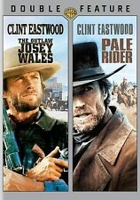 THE OUTLAW JOSEY WALES / PALE RIDER Clint Eastwood Double Feature 2-Disc DVD Set
