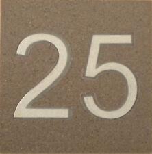 Numero civico in GRES - dimensione 20x20 cm