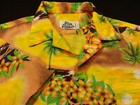 Hilo Hattie Mens XL Short Sleeve Button-Front Multicolor Floral Hawaiian Shirt