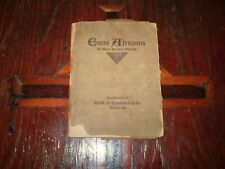 "RARE VINTAGE      ""ENEAS AFRICANUS"" BY HARRY STILLWELL EDWARDS 1920 1ST ED..."