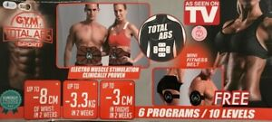 Gymform Total Abs EMS - Massagegürtel Muskeltraining 6 Programme B-Ware