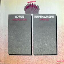 NOVALIS: I DISCEPOLI DI SAIS; RENATO ALPEGIANI: IL FIORE BLU MAZZOTTA 1985