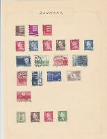denmark stamps page ref 17934