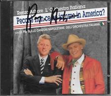 """RENZO ARBORE - RARO CD CON AUTOGRAFO """" PECCHE' NUN CE NE JAMMO IN AMERICA ? """""""