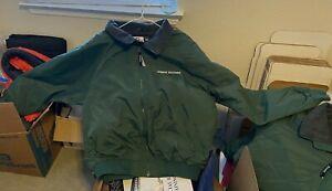 Lehman Brothers Winter Jacket Full Zip Lined Size Mens L (brandNew)