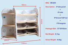 Toys Storage Rack Multifunction Storage Box Bookshelf Kids Storage Boxes & Bins