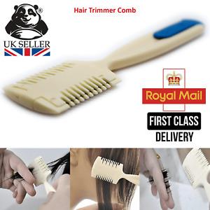 Durable Hair Cutting Trimmer Razor Blade Comb Long Short Beauty Cut UK