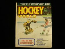 January 1973 Hockey World Magazine - Eddie Johnston & Yvan Cournoyer Cover
