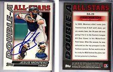 Jesus Montero Signed 2010 Topps #DA29 RC Card Auto Autograph