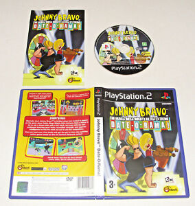 *RARE* Johnny Bravo Date-O-Rama! PS2 Sony PlayStation 2  *PAL*