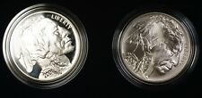 2001 American Buffalo Commemorative Coins Silver $1 Dollars Proof and UNC OGP