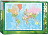 Carte Du Monde 1000 Pièce Puzzle 680mm x 490mm ( Pz )