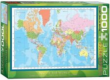 Map Of The World 1000 piece jigsaw puzzle 680mm x 490mm (pz)