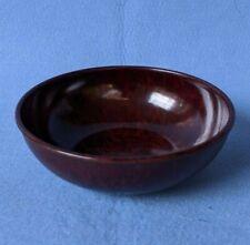 Hand Made Original 1945 Bakelite 13cm scale pan/bowl in dark red