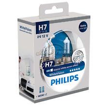 Kit 2 Lampade Philips H7 white Vision Ultra + 2 W5W Lampadine Fari Effetto 3700k