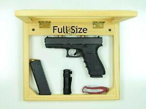 Concealment picture frame, self defense compartment hanging handgun furniture FL