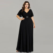 Ever-Pretty Long Mother of Bride Evening Gowns Bridesmaid Wedding Dresses 09890 Black 20