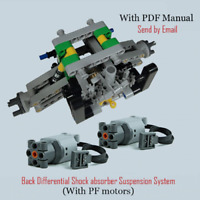 Technic Car Differential RS 42056 42083 42099 42110 Building Blocks Bricks MOC