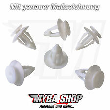 10x Interior Trim Mounting Clips Mercedes Benz W245 W169 A0009912498