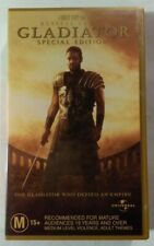 Gladiator [Special Edition] Vhs 2000 Epic Drama Ridley Scott Universal Small